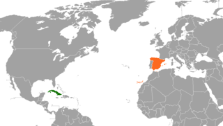Diplomatic relations between the Republic of Cuba and the Kingdom of Spain