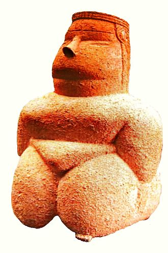 Pre-Nuragic Sardinia - Mother Goddess from Cuccuru s'Arrius, Cabras