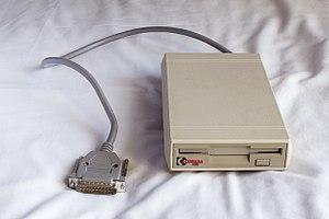 Cumana (company) - Cumana floppy disk drive for the Commodore Amiga.