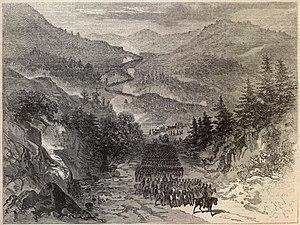 Battle of the Cumberland Gap (1863) - Image: Cumberland gap