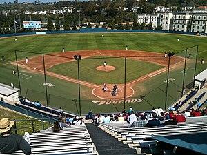 San Diego Toreros baseball - John Cunningham Stadium, the team's home venue from 1970–2012.