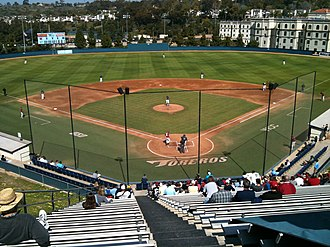San Diego Toreros baseball - John Cunningham Stadium, the team's home venue from 1970–2012.
