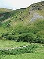 Cwm Berwyn and Craig Clogan, Ceredigion - geograph.org.uk - 904573.jpg