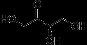 Erythrulose - Image: D erythrulose