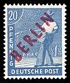 DBPB 1949 26 Freimarke Rotaufdruck.jpg