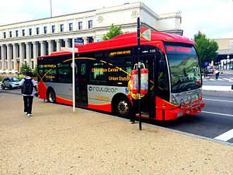 DC Circulator - Image: DC Circulator Van Hool A300K Bus