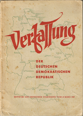 an analysis of the topic of the german democratic republic and the east germany Because from 1949–1990, east germany was a communist state called the gdr (german democratic republic) there is no religion in communism the christian churches .