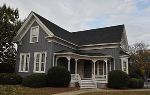 National Register of Historic Places listings in Floyd County, Georgia - Image: DR. ROBERT BATTEY HOUSE, ROME, FLOYD, GA