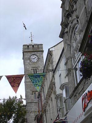 Fore Street - Image: DSCN1073Redruth Clock Tower