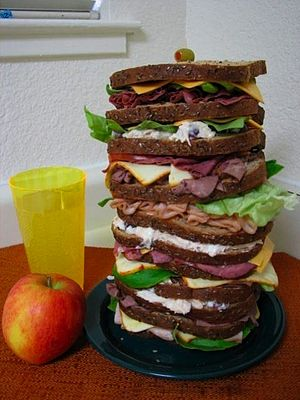 Dagwood sandwich - A real-world realization of the Dagwood sandwich concept