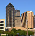 Dallas Crow Center 2100 Ross Ave JP Morgan Chase Tower Fairmont Hotel.jpg
