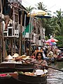 Damneon Saduak-Floating market - Plovoucí trh Damneon Saduak - panoramio - Thajsko (6).jpg