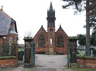 Clay Cross - Danesmoor Cemetery Chapel and Parkhouse Memorial