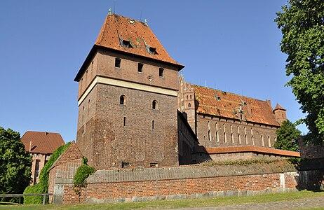 Toilet tower of Malbork Castle