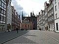 Danzig, Grobla I, Blick auf die Königliche Kapelle und die Marienkapelle.jpg