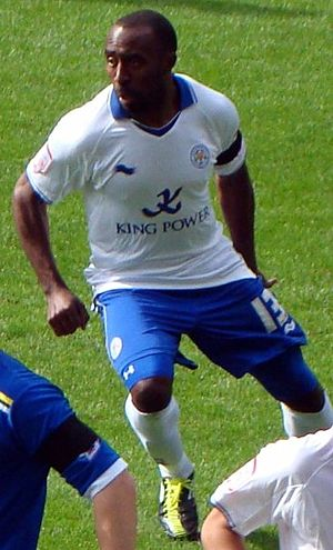 Darius Vassell - Vassell playing for Leicester City in 2011