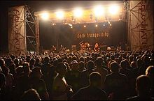 I Dark Tranquillity all'Agglutination Metal Festival 2008