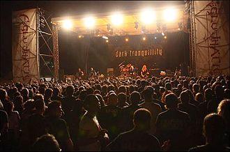 Dark Tranquillity - Dark Tranquillity headlining the Agglutination Metal Festival, 2008