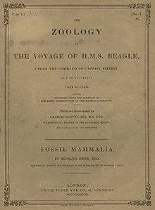 Darwin Zoology of the Voyage of HMS. Beagle Band1 Teil1 1838.jpg