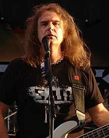 Ellefson playing at the Illinois State Fair in August 2019