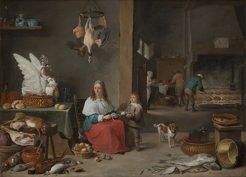 File:David Teniers the Younger-Kitchen Scene.jpg