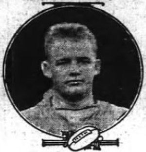 David Peacock (American football) - Peacock c. 1912
