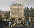 De tuin en het koetshuis van Keizersgracht 524 in Amsterdam Rijksmuseum SK-A-3831.jpeg
