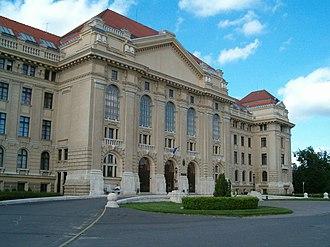 Debrecen District - Image: Debrecen egyetem 2
