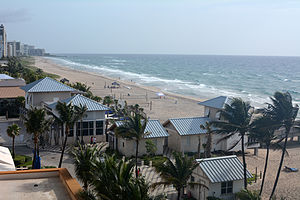 Deerfield Beach, Florida - Northern portion of Deerfield Beach