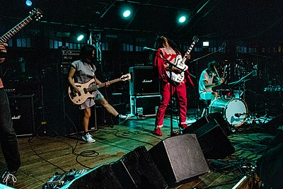 Picture of a band or musician: Deerhoof