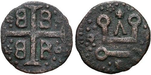Denaro of Francesco I Gattilusio