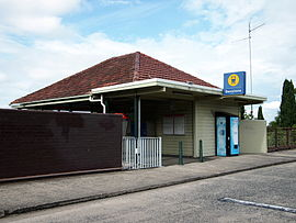 Denistone Station building April 2013.jpg