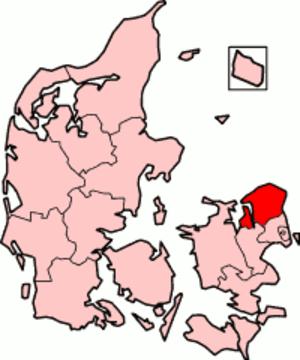 Frederiksborg County - Frederiksborg County in Denmark