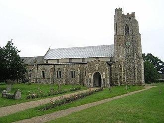 Dennington - Image: Dennington Church of St Mary