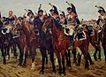 Detail Showing Incredible Painted Detail in the Cuirassiers Before the Charge by Jean Louis Ernest Meissonier, 1805 (13041305404).jpg
