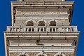 Detail of the tower of St. George's Parish Church, Piran, Slovenia 02.jpg