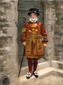 Detroit Publishing Co. - A Yeoman of the Guard (N.B. actually a Yeoman Warder), full restoration.png