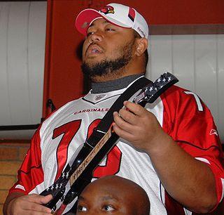 Deuce Lutui Tongan American football guard