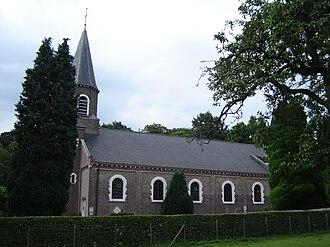 Sint-Martens-Latem - Image: Deurle Sint Aldegondiskerk 1