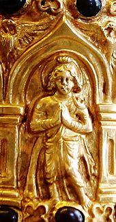 Bodhisattva wikipedia probable early image of a bodhisattva bimaran casket 50 ce fandeluxe Images