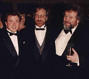 Allen Daviau - Peter R.J. Deyell, Steven Spielberg, and Allen Daviau