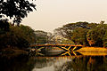 Dhanmondi lake bridge, Dhaka, Bangladesh.JPG