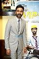 Dhanush promotes VIP2 in Delhi.jpg