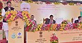 Dharmendra Pradhan addressing the event to mark the signing of MoA to promote bio-fuel in Odisha, between Bharat Petroleum Corporation Ltd. (BPCL) and Odisha University of Agriculture and Technology (OUAT), in Bhubaneswar.jpg