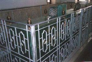 Dhul-Nun al-Misri - Tomb of Dhul-Nun al-Misri (AD 796-859) in Cairo's City of the Dead.