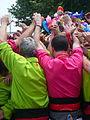 Diada castellera festes de primavera 2014 a Sant Feliu de Llobregat P1480293.jpg