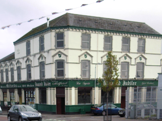 """Johnny Adair - The """"Diamond Jubilee"""" pub on the lower Shankill Road was the favourite meeting place for Adair and his C Company"""