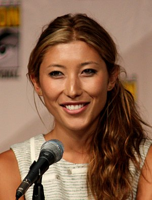 Dichen Lachman - Lachman at the 2009 San Diego Comic Con.