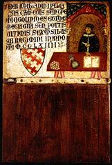 Biccherna tablet of the Camarlengo Ildebrandino Pagliaresi
