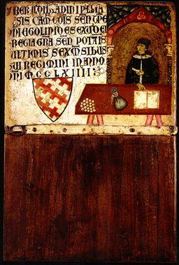 Dietisalvi di speme, Tavoletta di biccherna del camarlengo Ildebrandino Pagliaresi, 1264